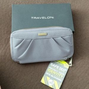 Traveling Pleated wallet